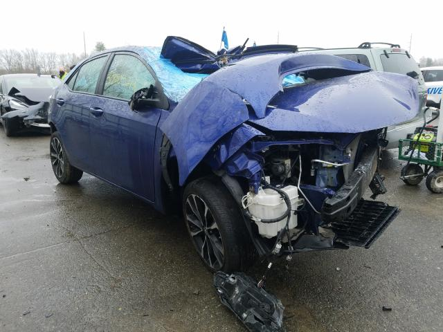 Salvage cars for sale at North Billerica, MA auction: 2017 Toyota Corolla SE