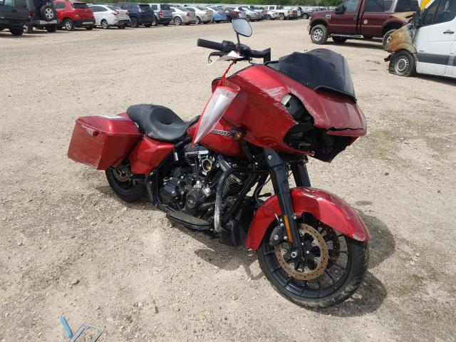 Salvage cars for sale from Copart Mercedes, TX: 2018 Harley-Davidson Fltrxs ROA
