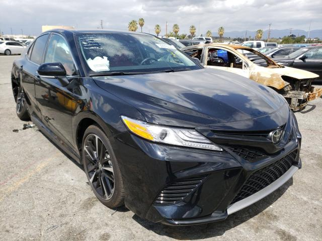 Salvage cars for sale from Copart Colton, CA: 2020 Toyota Camry XSE
