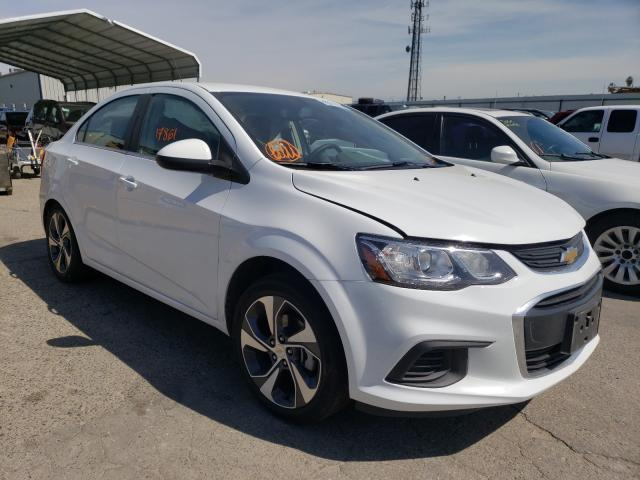 Salvage cars for sale from Copart Fresno, CA: 2020 Chevrolet Sonic Premium