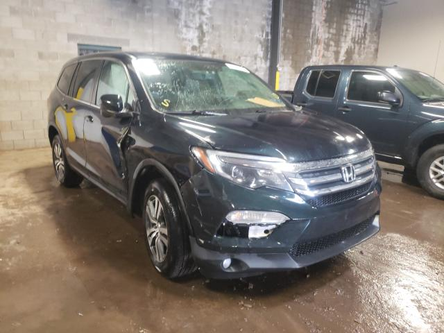 Salvage cars for sale from Copart Chalfont, PA: 2016 Honda Pilot EXL