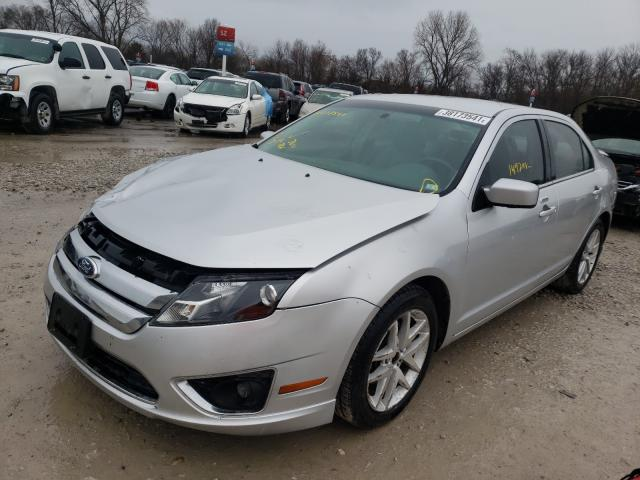 2012 FORD FUSION SEL - Left Front View
