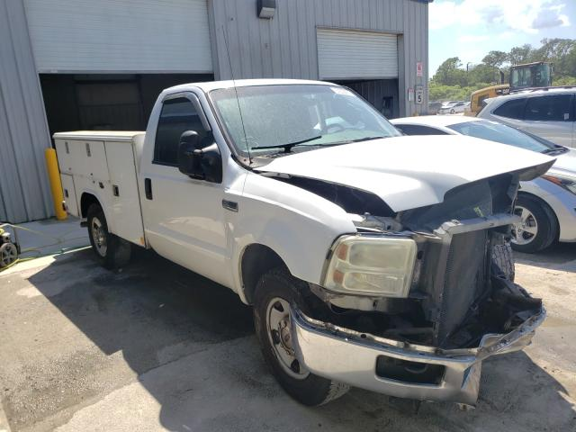 Salvage cars for sale from Copart Fort Pierce, FL: 2006 Ford F250 Super