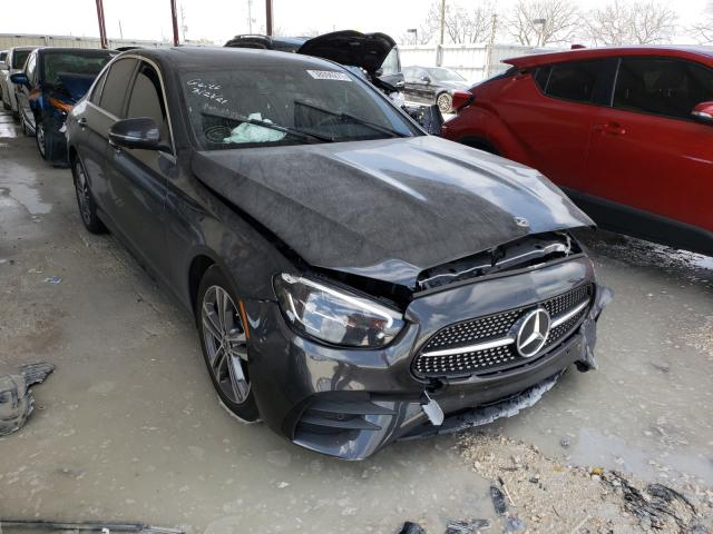 Salvage cars for sale from Copart Homestead, FL: 2021 Mercedes-Benz E 350