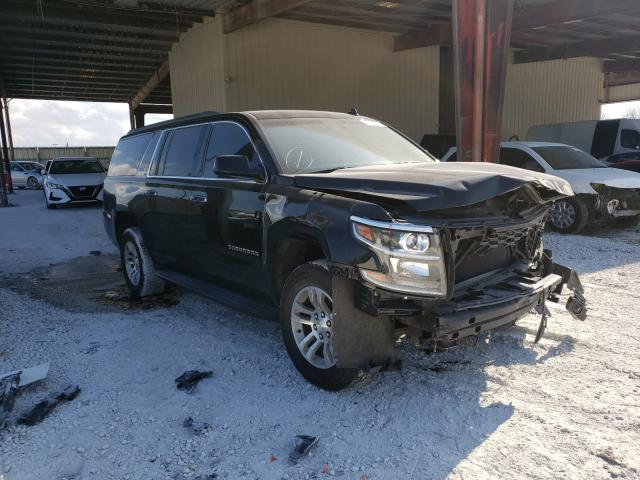 Salvage cars for sale from Copart Homestead, FL: 2015 Chevrolet Suburban K