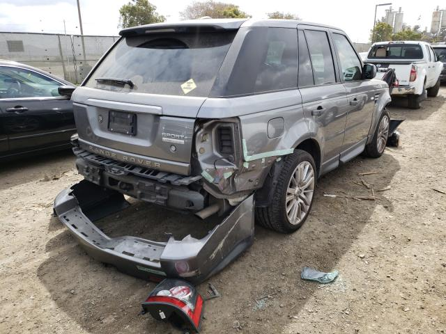 2011 LAND ROVER RANGE ROVE - Right Rear View
