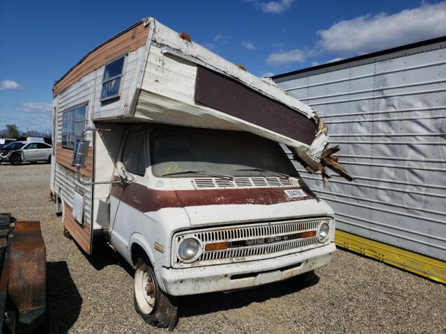 Salvage cars for sale from Copart Anderson, CA: 1973 American Motors Motorhome