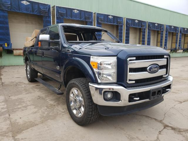 Salvage cars for sale from Copart Columbus, OH: 2015 Ford F250 Super