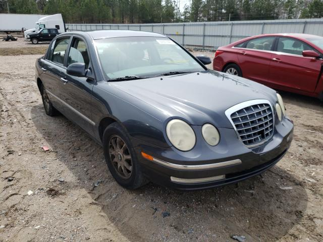 Salvage cars for sale from Copart Charles City, VA: 2005 KIA Amanti
