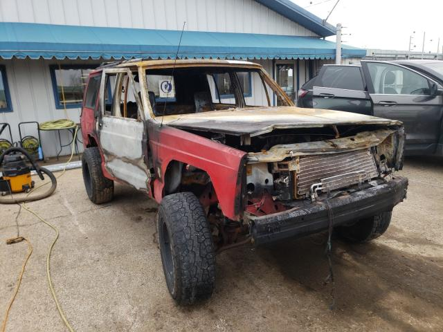 Salvage cars for sale from Copart Pekin, IL: 1996 Jeep Cherokee S