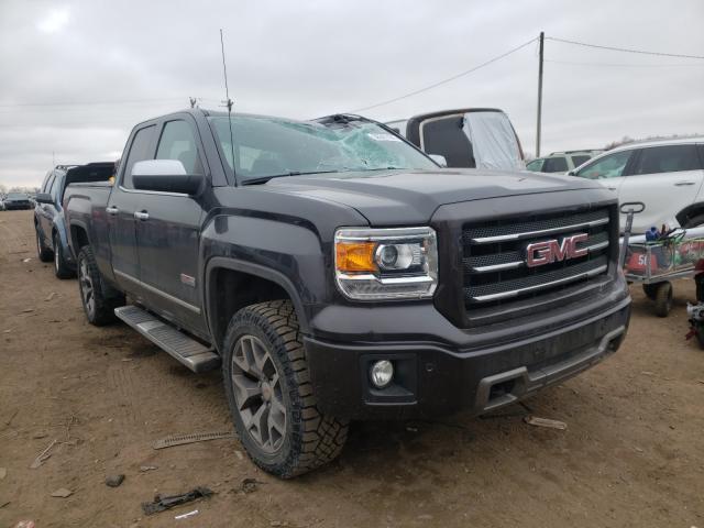 Salvage trucks for sale at Portland, MI auction: 2015 GMC Sierra K15