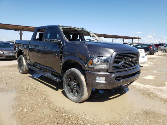 Salvage cars for sale from Copart Temple, TX: 2018 Dodge 2500 Laram