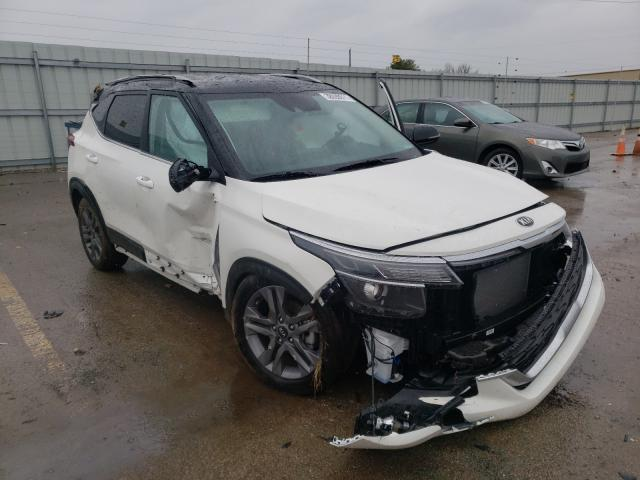Salvage cars for sale from Copart Lexington, KY: 2021 KIA Seltos S