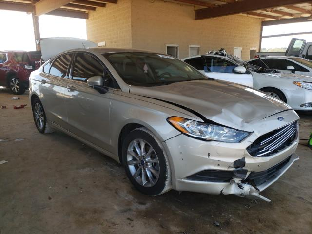 Salvage 2017 FORD FUSION - Small image. Lot 37957341