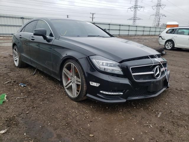 Salvage cars for sale from Copart Elgin, IL: 2013 Mercedes-Benz CLS 550