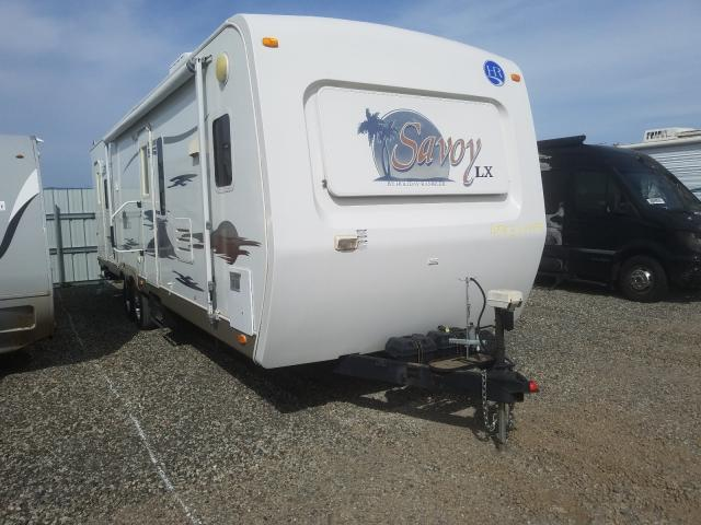 Trailers salvage cars for sale: 2006 Trailers Savoy SL