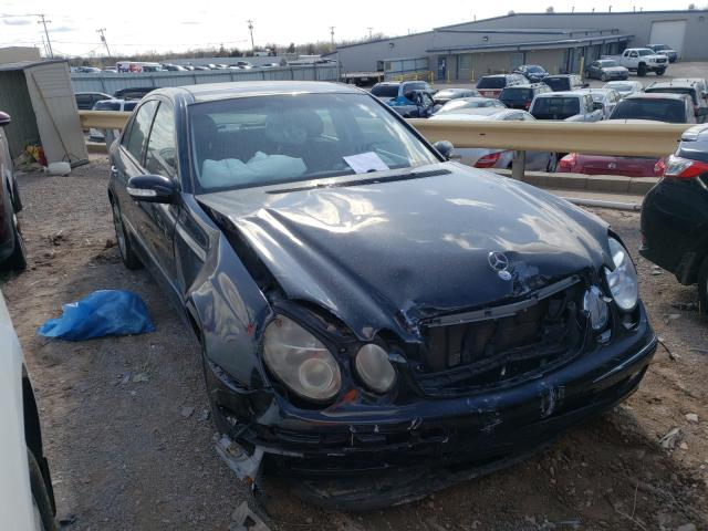 Salvage cars for sale from Copart Oklahoma City, OK: 2003 Mercedes-Benz E 500