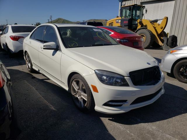 Salvage cars for sale from Copart Colton, CA: 2011 Mercedes-Benz C300