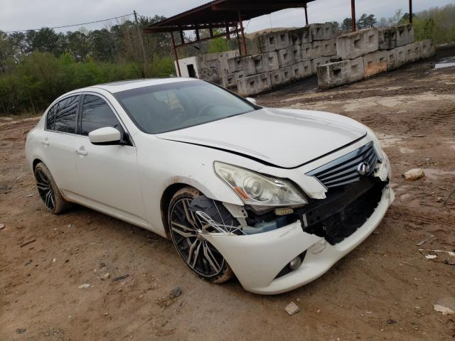 Salvage cars for sale from Copart Fairburn, GA: 2011 Infiniti G37 Base