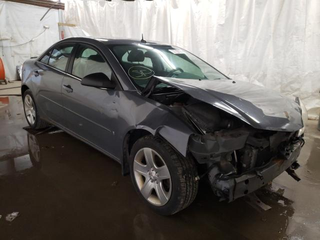 Salvage cars for sale from Copart Ebensburg, PA: 2008 Pontiac G6 Base