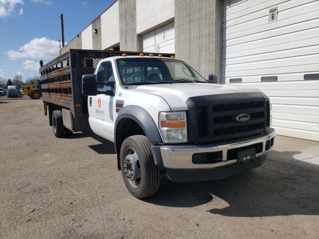 Salvage cars for sale from Copart Blaine, MN: 2008 Ford F550 Super