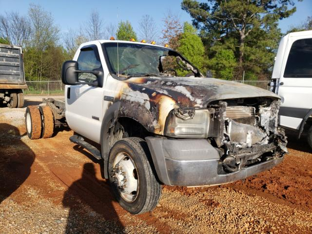 Salvage cars for sale from Copart Tanner, AL: 2005 Ford F550 Super