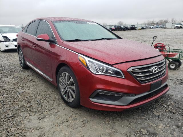 Salvage cars for sale from Copart Appleton, WI: 2015 Hyundai Sonata Sport