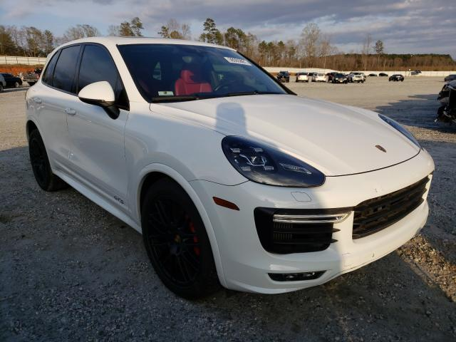 Porsche salvage cars for sale: 2016 Porsche Cayenne GT