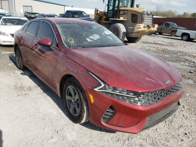 Salvage cars for sale from Copart Hueytown, AL: 2021 KIA K5 LX