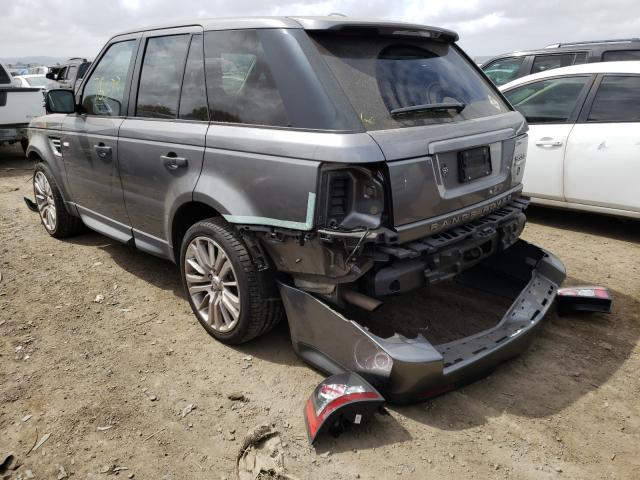 2011 LAND ROVER RANGE ROVE - Right Front View