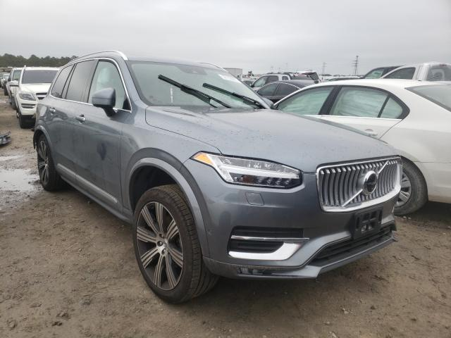 Salvage cars for sale from Copart Houston, TX: 2020 Volvo XC90 T6 IN