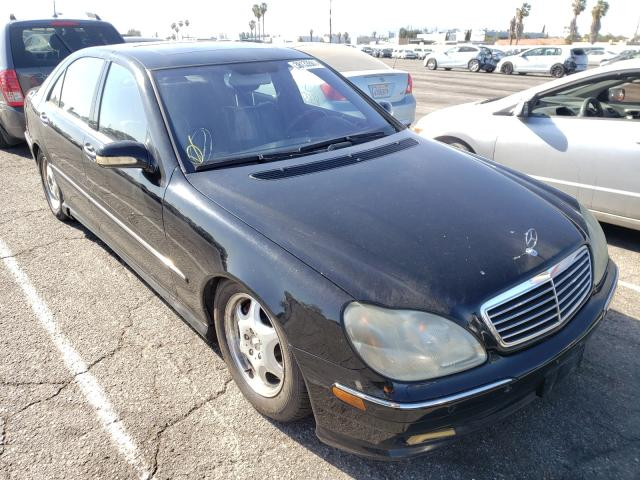 Mercedes-Benz salvage cars for sale: 2001 Mercedes-Benz S 500