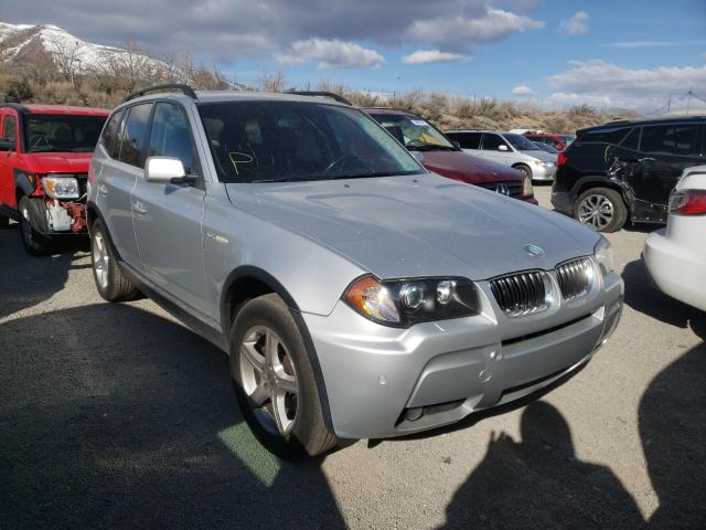 Salvage cars for sale from Copart Reno, NV: 2006 BMW X3 3.0I