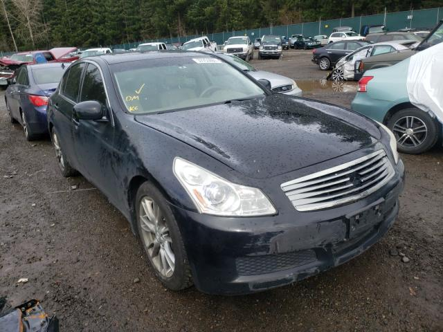 Salvage cars for sale from Copart Graham, WA: 2007 Infiniti G35