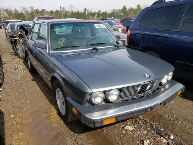 Salvage cars for sale from Copart Sandston, VA: 1988 BMW 5 Series