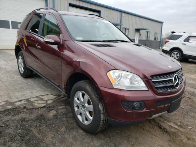 Salvage cars for sale from Copart Chambersburg, PA: 2007 Mercedes-Benz ML 350