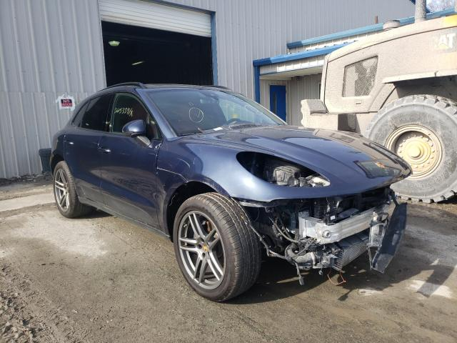 Porsche salvage cars for sale: 2020 Porsche Macan