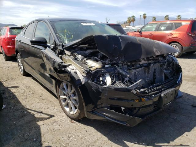 Salvage cars for sale from Copart Colton, CA: 2017 Ford Fusion SE