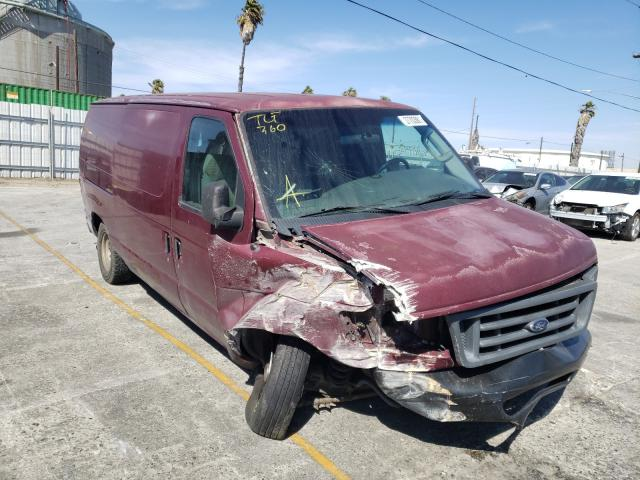 Salvage cars for sale from Copart Wilmington, CA: 2003 Ford Econoline