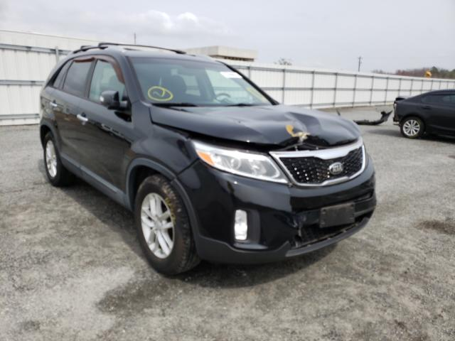 Salvage cars for sale from Copart Fredericksburg, VA: 2014 KIA Sorento LX