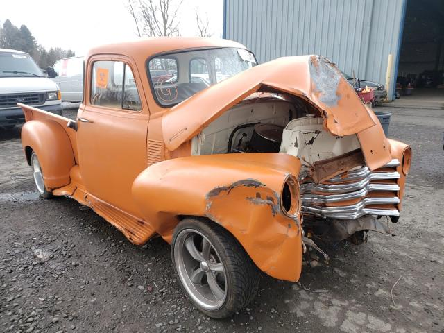 Chevrolet Pickup salvage cars for sale: 1954 Chevrolet Pickup