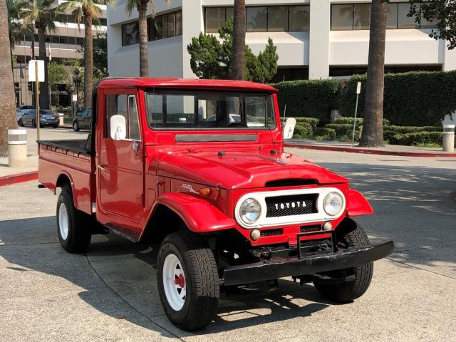 Salvage cars for sale from Copart Sacramento, CA: 1966 Toyota FJ Cruiser