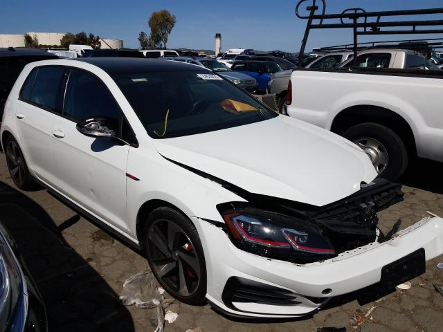 Salvage cars for sale from Copart Martinez, CA: 2019 Volkswagen GTI S