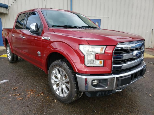 Ford salvage cars for sale: 2016 Ford F150 Super