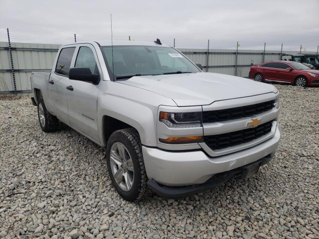 Salvage cars for sale from Copart Appleton, WI: 2018 Chevrolet Silverado
