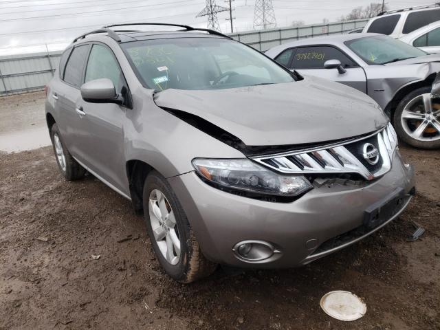 Nissan Murano salvage cars for sale: 2009 Nissan Murano
