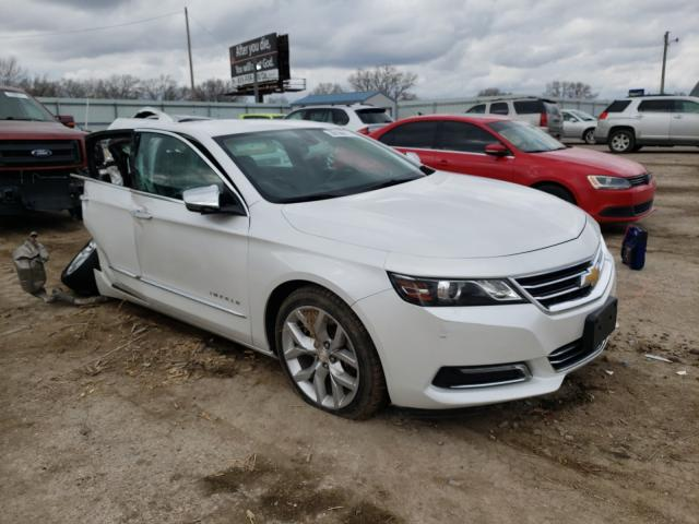 Salvage cars for sale from Copart Wichita, KS: 2018 Chevrolet Impala PRE