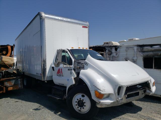 Salvage cars for sale from Copart San Diego, CA: 2015 Ford F650 Super