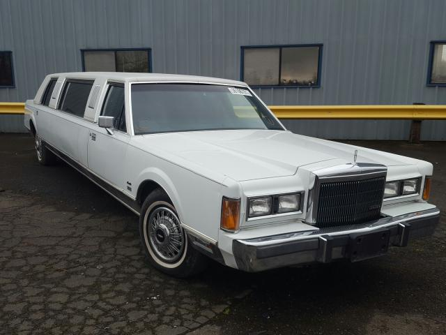 Lincoln Town Car salvage cars for sale: 1989 Lincoln Town Car