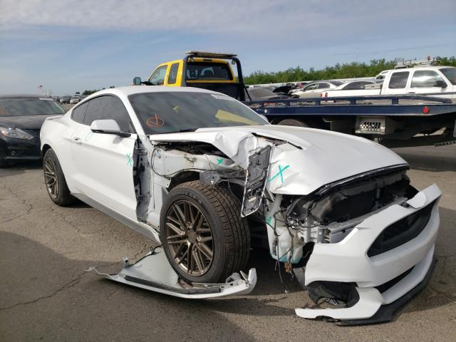 Ford salvage cars for sale: 2016 Ford Mustang GT